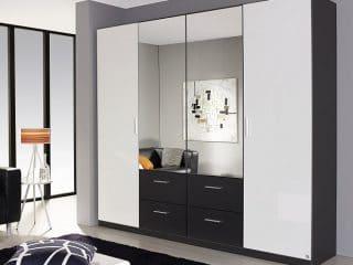 Boston B181cm hoogglans/spiegel